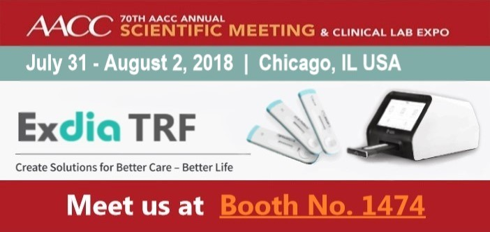 Precision Biosensor Exhibiting at AACC 2018